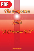 The Forgotten Spirit (A Christmas Tale) - Front Book Cover, PDF Format